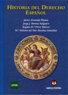 leer HISTORIA DEL DERECHO ESPAÑOL gratis online