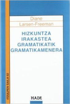 leer HIZKUNTZA IRAKASTEA GRAMATIKATIK GRAMATIKAMENERA gratis online