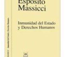 leer INMUNIDAD DEL ESTADO Y DERECHOS HUMANOS gratis online