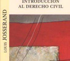 leer INTRODUCCION AL DERECHO CIVIL gratis online