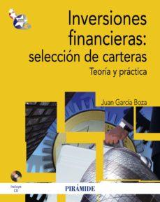 leer INVERSIONES FINANCIERAS: SELECCION DE CARTERAS. TEORIA Y PRACTICA gratis online