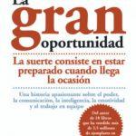 leer LA GRAN OPORTUNIDAD: LA SUERTE CONSISTE EN ESTAR PREPARADO CUANDO LLEGA LA OCASION gratis online