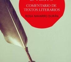 leer LA MIRADA AL TEXTO: COMENTARIO DE TEXTOS LITERARIOS gratis online