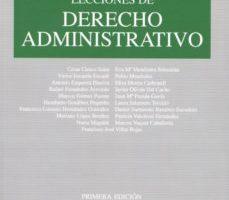 leer LECCIONES DE DERECHO ADMINISTRATIVO gratis online