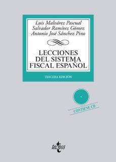 leer LECCIONES DEL SISTEMA FISCAL ESPAÑOL gratis online
