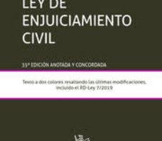 leer LEY DE ENJUICIAMIENTO CIVIL gratis online