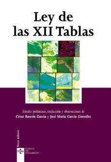 leer LEY DE LAS XII TABLAS gratis online