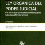 leer LEY ORGANICA DEL PODER JUDICIAL 20ª EDICION 2016 gratis online