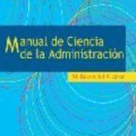 leer MANUAL DE CIENCIA DE LA ADMINISTRACION gratis online