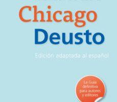 leer MANUAL DE ESTILO CHICAGO-DEUSTO gratis online