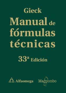leer MANUAL DE FORMULAS TECNICAS gratis online