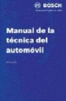 leer MANUAL DE LA TECNICA DEL AUTOMOVIL gratis online