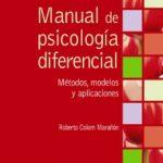 leer MANUAL DE PSICOLOGIA DIFERENCIAL: METODOS