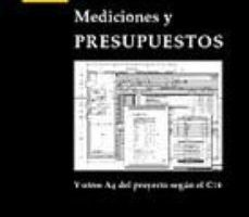 leer MEDICIONES Y PRESUPUESTOS gratis online