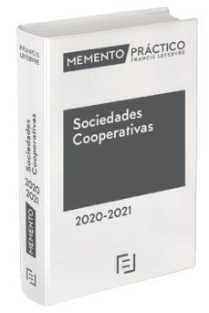 leer MEMENTO PRACTICO SOCIEDADES COOPERATIVAS 2020/2021 gratis online