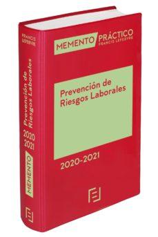 leer MEMENTO PREVENCION DE RIESGOS LABORALES 2020/2021 gratis online