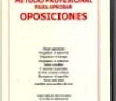 leer METODO PROFESIONAL PARA APROBAR OPOSICIONES gratis online