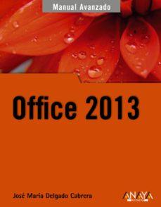 leer OFFICE 2013 gratis online