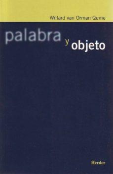 leer PALABRA Y OBJETO gratis online