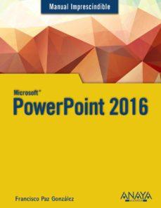 leer POWERPOINT 2016 gratis online