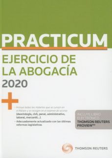 leer PRACTICUM EJERCICIO DE LA ABOGACIA 2020 gratis online