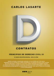 leer PRINCIPIOS DE DERECHO CIVIL TOMO III: CONTRATOS gratis online