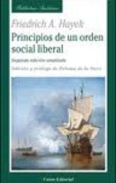 leer PRINCIPIOS DE UN ORDEN SOCIAL LIBERAL gratis online