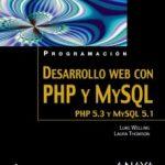 leer PROGRAMACION DESARROLLO WEB CON PHP Y MYSQL gratis online