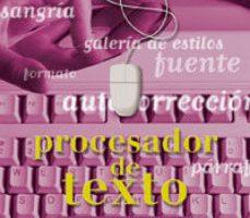 leer PROYECTO INTRO. PROCESADOR DE TEXTO gratis online