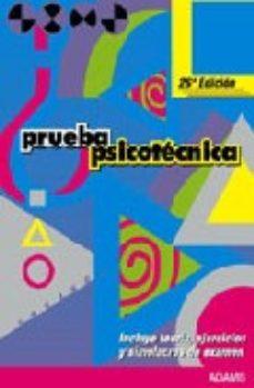 leer PRUEBA PSICOTECNICA gratis online