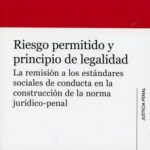 leer RIESGO PERMITIDO Y PRINCIPIO DE LEGALIDAD gratis online