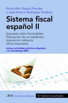 leer SISTEMA FISCAL ESPAÑOL II gratis online