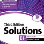 leer SOLUTIONS B1 INTERMEDIATE STUDENTS BOOK gratis online