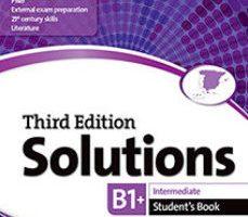 leer SOLUTIONS B1 INTERMEDIATE STUDENTS BOOK gratis online